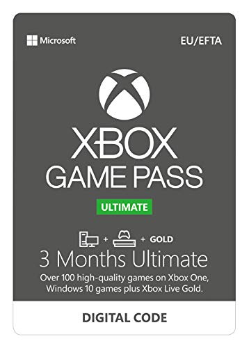 Xbox Game Pass Ultimate | 3 Month Membership | Xbox One/Win 10 PC - Download Code