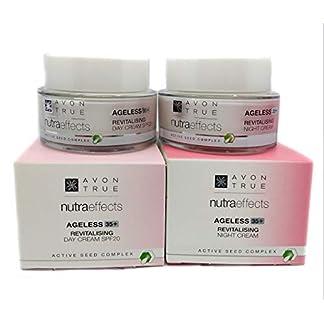 AVON True Nutraeffects Ageless 35+ : Crema de Día SPF 20 + Crema de Noche SET !