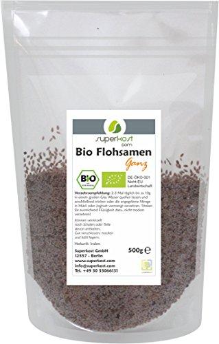 Superkost Bio Flohsamen, 1er Pack (1 x 500 g)