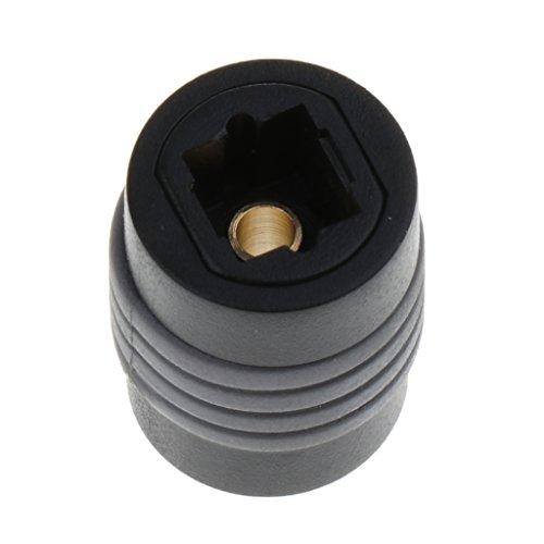 Baoblaze Toslink Optischer Koppler Digital Audio Fiber Optic Female Extension Adapter - Digital-audio-koppler