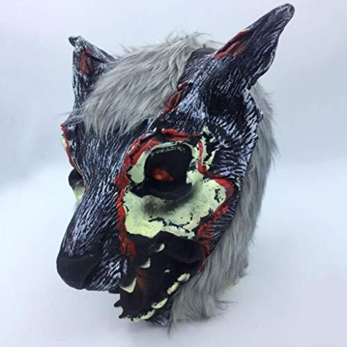 Umière Cosplay Maske Masque De Purge Gießen Festival Cosplay Kostüm D'Halloween (Farbe : D) ()