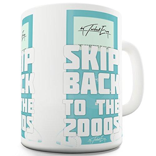 ck to the 2000komisch, Neuheit Tasse, keramik, weiß, 15 OZ ()