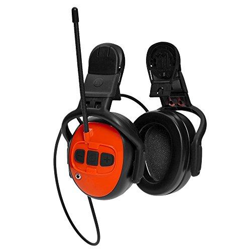 Husqvarna Gehörschutz UKW-Radio zur Befestigung am Helm