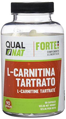 L-Carnitina para rendimiento deportivo, quemagrasas y antioxidante. 90 cápsulas