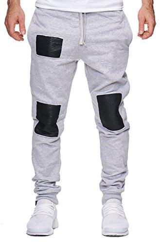 Violento -  Pantaloni sportivi  - Uomo Grau