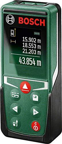 Bosch Home and Garden 0603672800 Bosch Medidor láser de distancias UniversalDistance (2 Pilas, 1,5 V, Rango de medición hasta 50 m, en Caja), 1.5 V