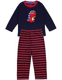 El pijama con rayas azul oscuro y cálido Rebel