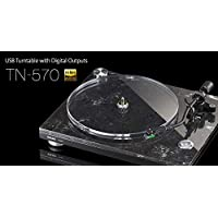 TEAC TN 570–Platine, Noir