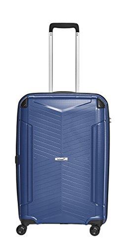Packenger Premium Hartschalen PP Koffer Silent 24 Zoll (Dunkelblau)