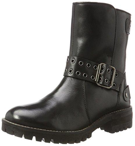 Jeans Black Noir Pepe London Femme Hellen Bottes Open U81WUCdq4w