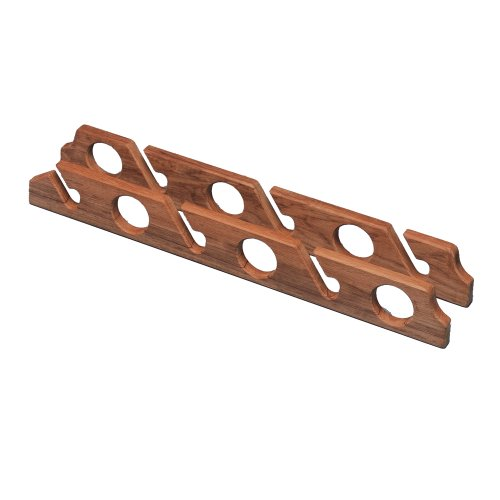 WHITECAP TEAK six-rod Storage Rack – Pair (Ski-rack Mount)