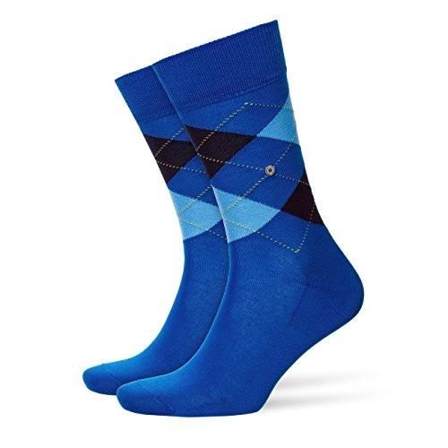 Burlington Herren Socken Manchester 2er Pack, Größe:40-46;Farbe:Mediterran (6061)