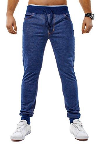 Hommes Jogging Jeans freestyle Rocker ID1202 Slim Fit (stretch) Blau