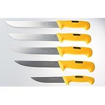 Ligne couteaux Gabelmann /couteaux de boucherie qualité professionnelle de 5 pièces / acier inoxydable (fait main) / poignées ergonomiques spéciales / Top qualité