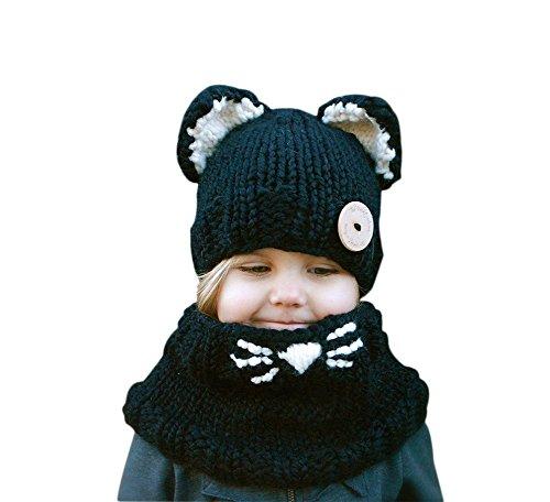 hosaire-1x-inverno-bambino-cappelli-di-maglia-sciarpa-ricopre-cappelli-orecchiette-di-lana-cappello-