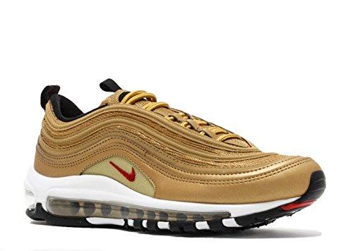 Nike AIR Max 97 QS (GS) 'Metallic Gold '2017 Release'' - 918890-700 -