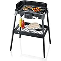 Severin 2792 - Barbecue sur pieds XXL - 2500 W - pare-vent - thermostat