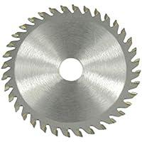 BESTOMZ Hoja de sierra circular de acero de alta velocidad de la aleación dura de 85x15m m 36 dientes para el mini cortó vio