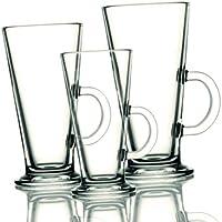 Pasabahce Colombian 55153 - Juego de 6 vasos de vidrio endurecido para café 36cl