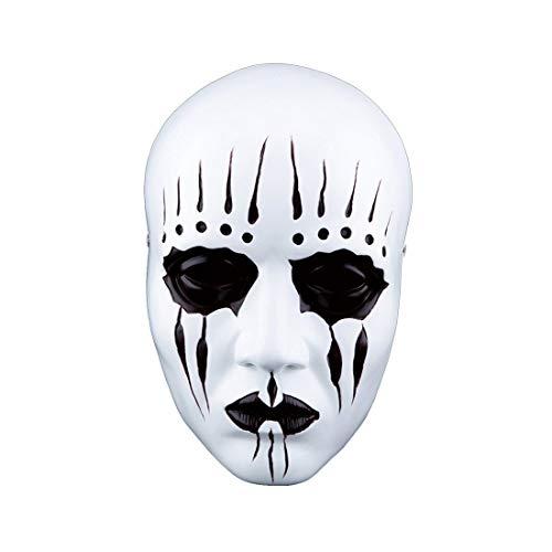 Schmuck Sammler Kostüm - WLXW Slipknot Joey Mask Collection, Halloween Horror Dämon Spielt Maskerade Maske Maske Handwerk Sammler Schmuck, Gesichtsschutz