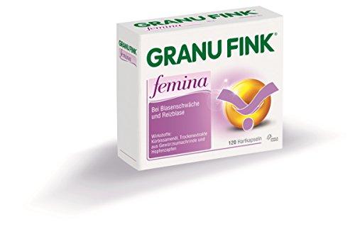 Preisvergleich Produktbild GRANUFINK HARTKAPSELN FEMINA (120 ST)