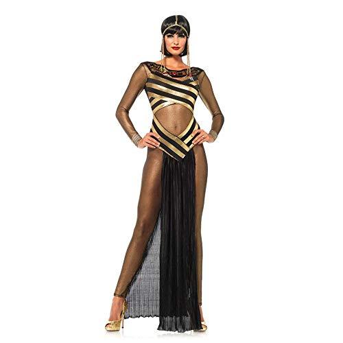 Ägyptischen Cleopatra Kostüm Göttin - Sexy ägyptische Göttin Cleopatra Kostüm Damen Halloween Cosplay Kostüm