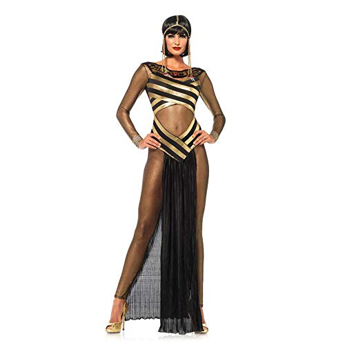 Sexy ägyptische Göttin Cleopatra Kostüm Damen Halloween Cosplay Kostüm (Ägyptischen Göttin Cleopatra Kostüm)