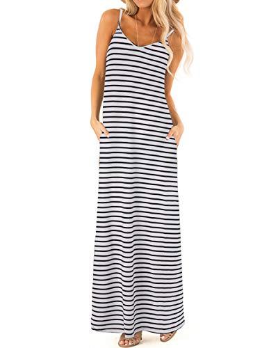 Zanzea Womens Maxi Dress V Neck ...