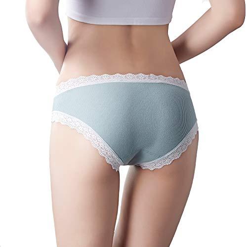 HONFON Damen Taillenslip Gr. Large, Stil 1 - 4
