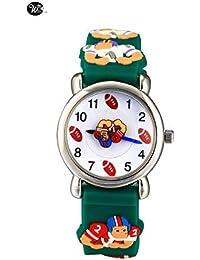 Arroyo Sports Gift 3D Cute Cartoon Digital Silicon Wristwatches Time Teacher Gift For Little Girls Boys Kids Children... - B07GDCSR5W