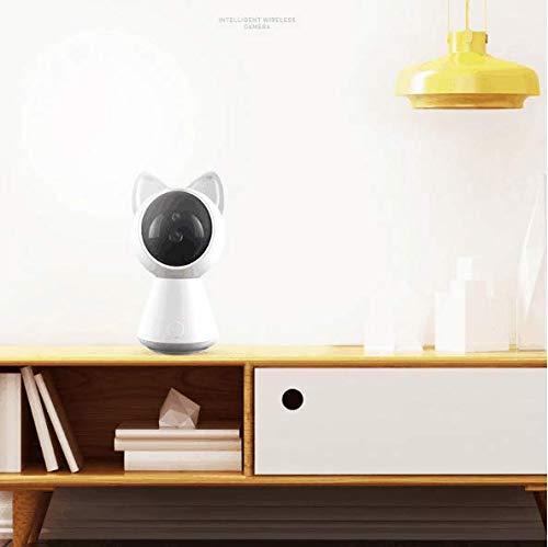 JKYQ Kreative Cartoon Smart Baby Monitor Überwachungskamera WiFi Home Indoor HD Infrarot Nachtsicht Überwachungskamera Aufnahme Smart Zoom Bewegungserkennung Alarm