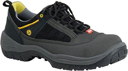 Ejendals 3110�?7Größe 119,4cm Jalas 3110Licht Griff Safety Schuhe–Schwarz/Grau/Gelb black/grey/yellow