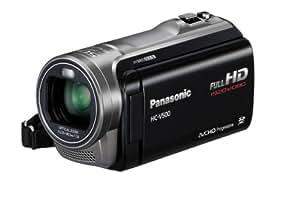 Panasonic HC-V500EG-K Full-HD-Camcorder (7,6 cm (3 Zoll) Touchscreen, 1,5 Megapixel, 38-fach opt. Zoom, 1Mos Sensor, 32mm Weitwinkel, 2D/3D-Umwandlung) schwarz