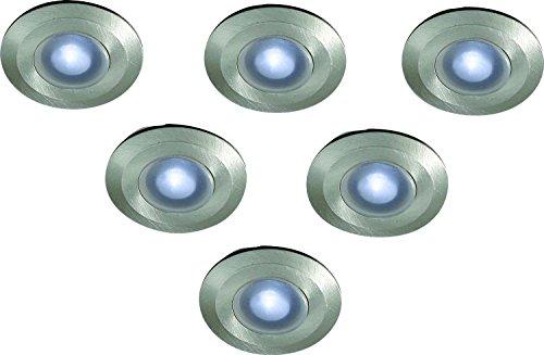 Massive Ramsgate 0,1W LED Iluminación para exteriores de acero inoxidable–Acero inoxidable, plástico,...
