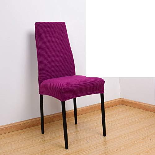 Sishe Stuhl Silpcover Stuhlbezug in schmaler Rückenlehne Büro-Computerstuhl Hotelstuhlüberzug Einteilige Spandexstuhlüberzüge-B by (Farbe : J)