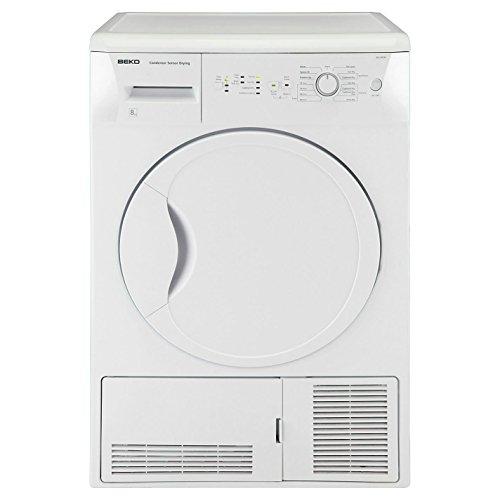 Beko DCU8230W 8kg Sensor Condenser Dryer In White