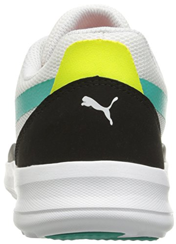 Puma Duplex Evo Olympics Synthétique Chaussure de Tennis White-Spectra Green-Black