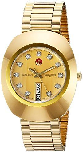Rado Herren-Armbanduhr Analog Automatik edelstahl Gold R12413493