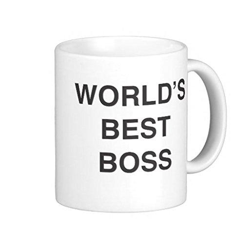 Mejor Jefe del mundo regalos para las mujeres de la novedad taza de café regalos de cumpleaños para mamá taza de cerámica taza 11oz