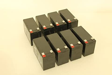 RITAR Cells Only UPS Replacement Battery Kit (Cost saving alternative to APC RBC12)