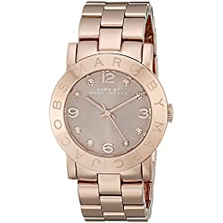 Marc Jacobs Women's Watch Analogue Quartz Stainless Steel MBM3221