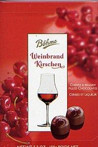 Pralinen Halloren Weinbrandkirschen 150g
