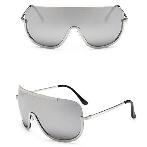 Logres Damen Sonnenbrille, verspiegelt, 1 Paar (#007) - Ss