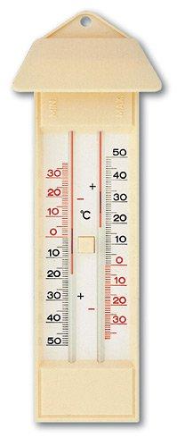 TFA Maxima-Minima-Thermometer elfenbein-weiß 10301503 - Elfenbein-thermometer
