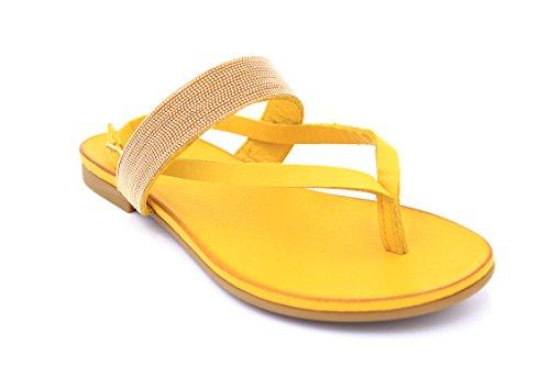 Inuovo ,  Damen Schuhe mit Riemchen Gelb