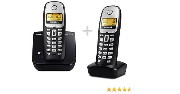 Schnurloses DECT-Telefon mit beleuchtetem Display und Telefonbuch ...