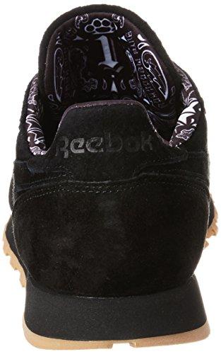 Reebok Herren Cl Leather Tdc Laufschuhe Schwarz (Black/white-gum)