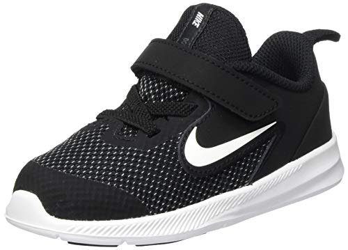 Nike Downshifter 9 TDV, Walking Shoe Unisex-Baby, Black/White/Anthracite/Cool Grey, 23.5 EU