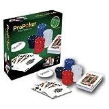 Dealer-Button und Spielen Matte Propoker 120Chip Poker Starter Set.