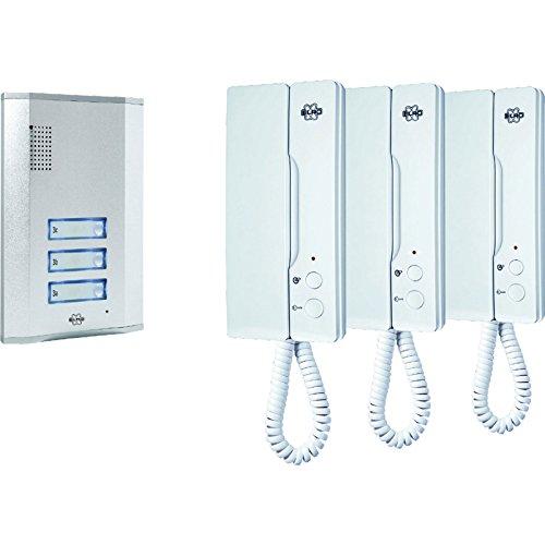 Advanced Byron Audio Door Intercom Kit for 3 Apartments 240v [Pack of 1] --